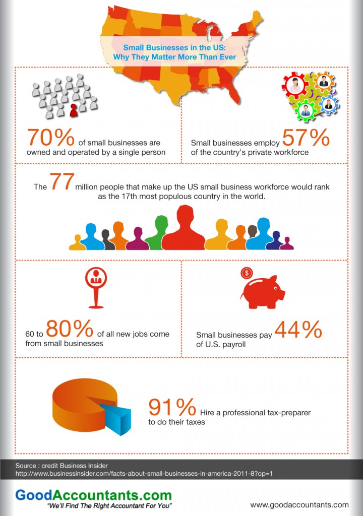 Small Businesses in the US: Why They Matter More Than Ever – Infographic